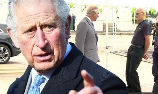 Prince Charles left shocked as Asda worker suddenly FAINTS halfway through chat with royal