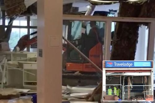 Travelodge digger rampage driver 'tried to get mental health help for weeks'