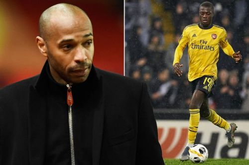 Thierry Henry says Arsenal stars are to blame for Nicolas Pepe's tough start