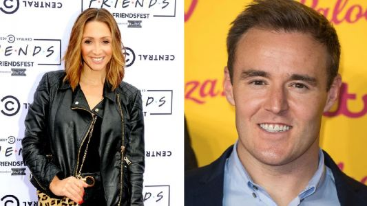 Ex Corrie star Lucy-Jo Hudson 'fears ex Alan Halsall will spill marriage secrets on I'm a Celeb'