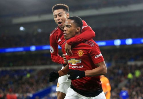 Anthony Martial and Jesse Lingard winning race to be fit for Liverpool clash