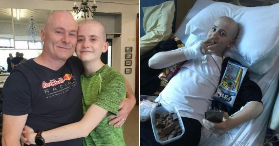 Teenager diagnosed with eating disorder actually had four tumours in his brain