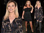 Amy Hart joins co-star Amy Childs at the launch of Celebs Go Dating in London