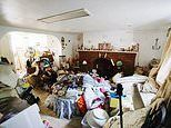 Grade II-listed four-bed North London house filled to the rafters with hoarded junk goes on market