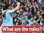 Fans will be allowed into stadiums for the first time in NINE months. but what are the rules?
