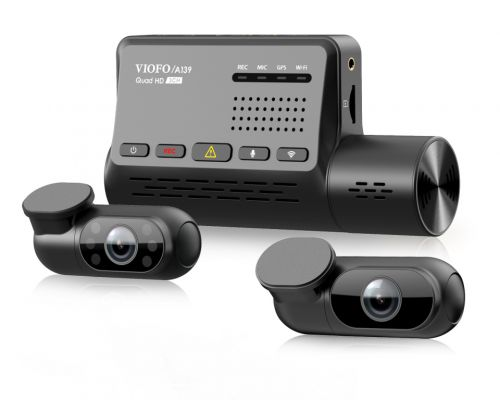 New Viofo A139 triple channel dash camera put to the test