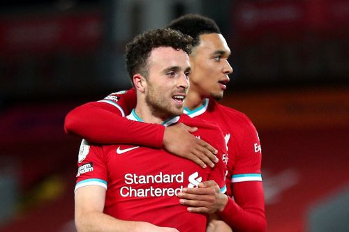 Influential Diogo Jota lays claim to place in Liverpool's revitalised 'fab four'