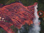 Fresh lava from Hawaii's Kilauea volcano consumes four more homes as it begins to travel faster