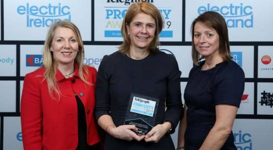 Estate agent who built career after starting as secretary wins top prize at the Belfast Telegraph Property Awards
