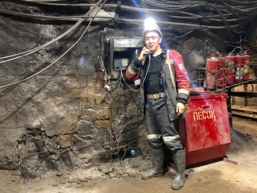 A day in the life of a Russian diamond miner in Siberia, who wakes up at 5:30 a.m., spends 9 hours a day in the mine, and gets 76 vacation days per year