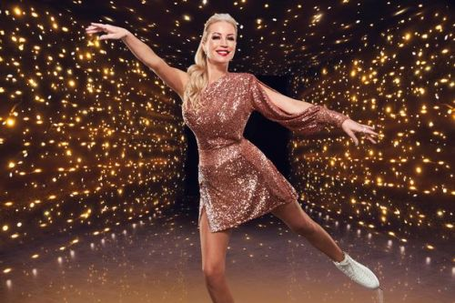 Denise Van Outen quits Dancing On Ice after suffering three bone fractures