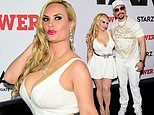 Coco Austin puts on very busty show with hubby Ice-T at premiere for Starz series Power in NYC