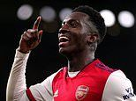Mikel Arteta believes Eddie Nketiah will be 'a top, top player' and wants him to sign new contract