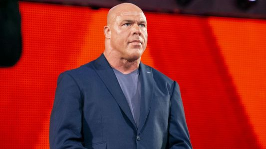 WWE fans love Arsenal coming out to Kurt Angle's entrance music during Crystal Palace match