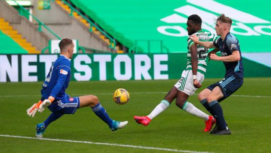 Celtic boss Lennon vows to keep hold of hat-trick hero Edouard