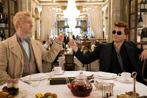 Meet the cast of Good Omens on BBC Two