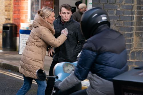EastEnders spoilers: Deadly danger for Ben Mitchell as he steps out in front of a motorbike