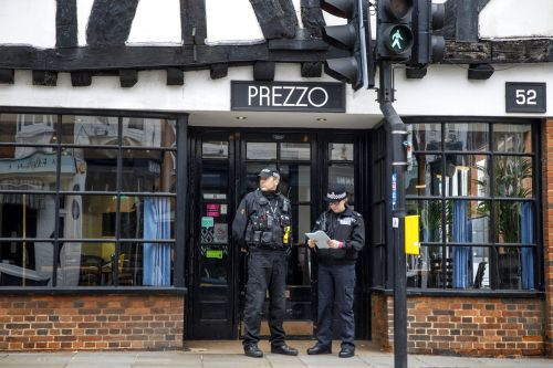 Couple who fell ill in Salisbury Prezzo not exposed to novichok, police confirm