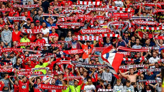 Over 300 Lille fans detained ahead of Ajax clash