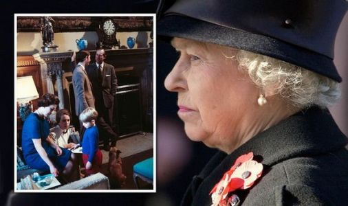 Queen caught breaking royal protocol on banned documentary - clip finally emerges