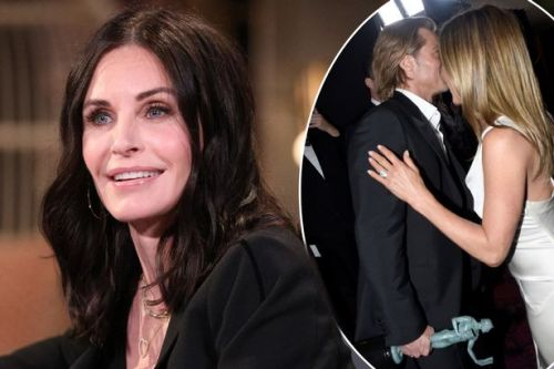 Courteney Cox drops hint about Jennifer Aniston and Brad Pitt after reunion: 'They still love each other'