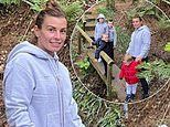 Coleen Rooney shares an adorable snap with her four sons as the family enjoy a nature walk