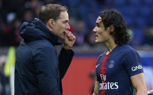 Paris Saint-Germain boss Thomas Tuchel raves about new Manchester United signing Edinson Cavani