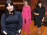 Daisy Lowe and Maya Henry attend film event for London Fashion Week