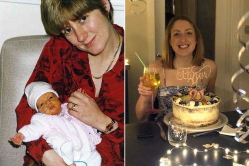Parents' heartwarming gesture to medics who saved their baby's life 21 years ago