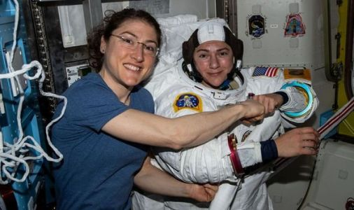 NASA spacewalk: Space agency boasts 'milestone' as all-female astronauts work on the ISS