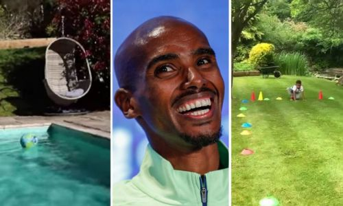Sir Mo Farah's family home revealed: See inside