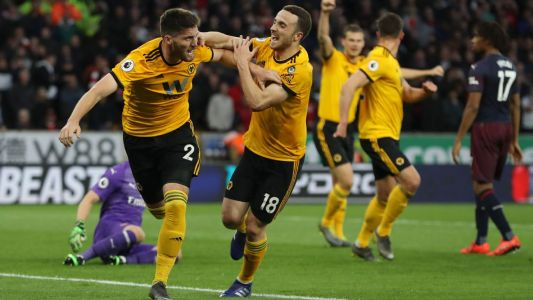 Arsenal's top-four hopes take another hit in lopsided loss to Wolverhampton