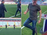 Clash of the Sky Sports titans! Jamie Carragher and Gary Neville again go head to head in a sprint