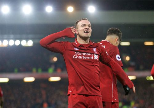 Liverpool 3-1 Man United: Super-sub Shaqiri sends Reds back to top of the Premier League