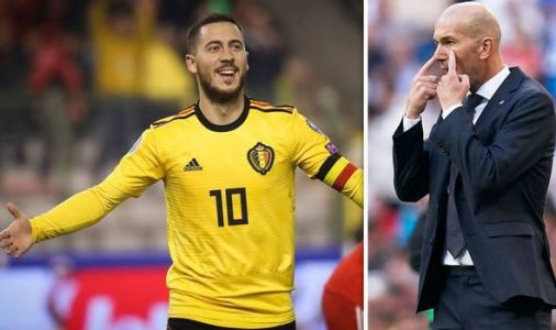 What Eden Hazard did when asked about Real Madrid transfer will SCARE Chelsea fans