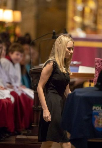 Andrew Harper's Wife Delivers Emotional Eulogy To 'Gentle Giant' At His Funeral