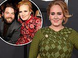 Adele's ex Simon Konecki and their son Angelo, nine, attend One Night Only concert special taping