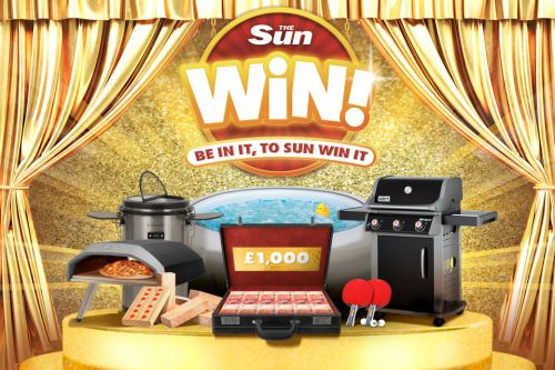 Sun Win: You could WIN the ultimate upgrade for your garden this summer