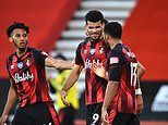 Dominic Solanke hits first Premier League goals for Bournemouth after 39 games in rout of Leicester