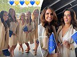Glamorous Ryder Cup WAGs share behind-the-scenes snaps as they support their partners