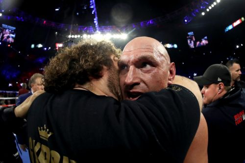 Tyson Fury sends message to Anthony Joshua after beating Deontay Wilder