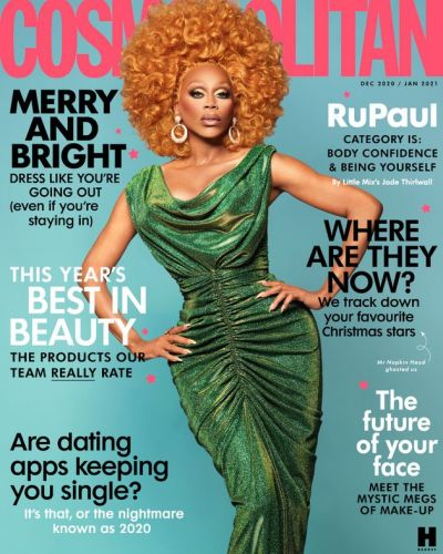 RuPaul Covers Cosmopolitan Magazine And It's A Total Serve