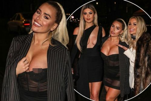 Former Love Island girls put on leggy display in reunion after MTV screening