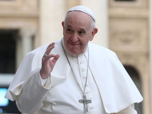 Pope Francis said same-sex couples should be covered by a civil union law