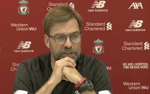 Watch Jurgen Klopp's pre-match press conference - Liverpool vs. Man United