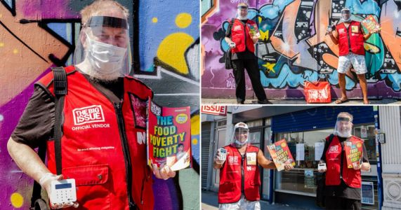 Big Issue sellers get PPE and contactless machines to return to the streets