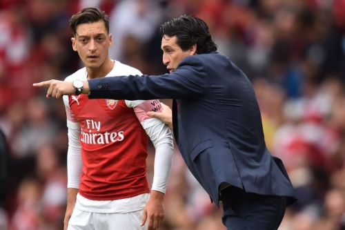 Unai Emery reveals what he told Arsenal's players at half-time against Manchester City