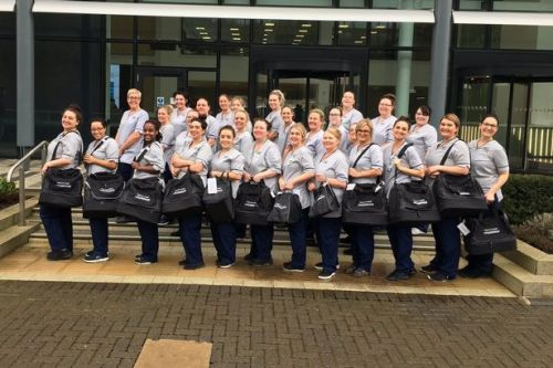 UWS nursing students tour South Lanarkshire schools with lifestyle advice for pupils