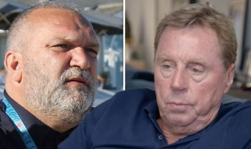 'Pull your pants up!' Harry Redknapp scolds Neil Ruddock after wardrobe mishap