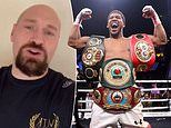 Tyson Fury vows to SMASH Anthony Joshua inside three rounds as pair close in on two-fight deal